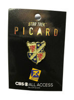 Star Trek PICARD FAMILY CREST PIN Badge Brand New NYCC 2019