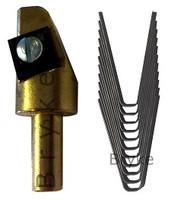 Head & Extra Heavy Duty Blades Combo #3 thru #5 Square