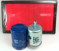 NISSAN NAVARA D21 2.4L PETROL FILTER KIT