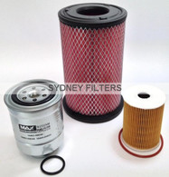 NISSAN NAVARA D22 3.0L TURBO DIESEL FILTER KIT