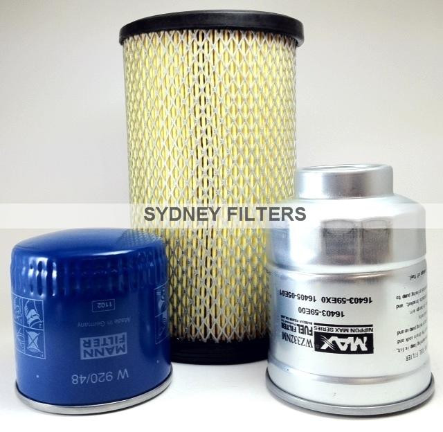 NISSAN NAVARA D22 2 5L TURBO DIESEL YD25 FILTER KIT