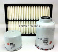 MAZDA 3 2.0L & 2.2L TURBO DIESEL AIR OIL FUEL FILTER KIT