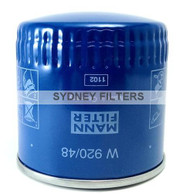 MANN OIL FILTER W920/48 NISSAN