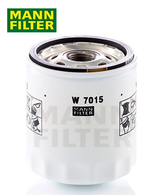 W7015 MANN OIL FILTER | suits FORD vehicles