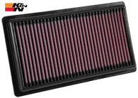 K&N AIR FILTER 33-3080 TOYOTA C-HR | interchangeable with 1780177050