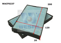 LDV G10 CABIN FILTERS [2-piece set] [WACF0237, interchangeable with RCA336P]