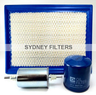HOLDEN COMMODORE VT VX VY 3.8L V6 FILTER KIT
