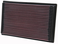 K&N 33-2080 NISSAN AIR FILTER (Interchangeable with A1598)