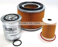 NISSAN PATROL GU TURBO DIESEL 3.0L FILTER KIT