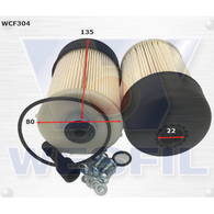 COOPER WCF304 FUEL FILTER