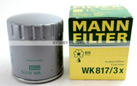 MANN FUEL FILTER WK817/3X (Interchangeable with Z556)