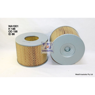 AIR FILTER (Interchangeable with A1397, WA1001, 17801-62010) TOYOTA