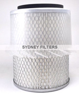 AIR FILTER (Interchangeable with HDA5839) | MITSUBISHI