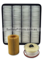 TOYOTA LANDCRUISER VDJ200 1VDFTV 4.5L V8 TURBO DIESEL (200 SERIES) FILTER KIT