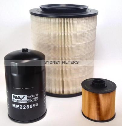 mitsubishi canter fe83d, fe84d, fe85d 4.9l t/diesel filter ... mitsubishi fuel pump diagram #15