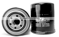 OIL FILTER WZ313NM | MITSUBISHI TRITON, PAJERO, MAZDA BRAVO (Interchangeable with Z313, MO503)