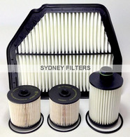 HOLDEN CAPTIVA 2.2L TURBO DIESEL FILTER KIT 2011, 2012
