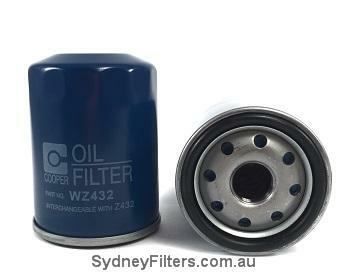 WZ432 OIL FILTER (Interchangeable with RYCO Z432) TOYOTA CAMRY, COROLLA,  TARAGO