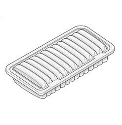 Daihatsu Terios air filter J102
