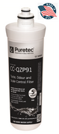 ZIP WATER FILTER CCQZP91 replaces 91240, 91241