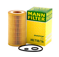 OIL FILTER HU718/1K (Interchangeable with 1121840025, 6111800009, R2682P) | MERCEDES BENZ VITO, SPRINTER, KLASSE