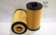 HOLDEN ASTRA/BARINA/CRUZE OIL FILTER WCO91 (Interchangeable with R2694P, WCO91, 93185674 , EO65090 )