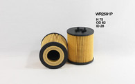 holden astra oil filter wr2591p