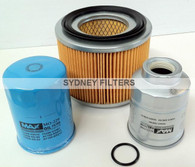 NISSAN PATROL GU 2.8L TURBO DIESEL FILTER KIT