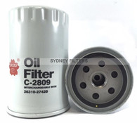 C2809 HYUNDAI OIL FILTER SANTA FE TURBO DIESEL