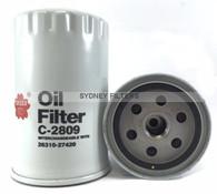 C2809 HYUNDAI OIL FILTER SANTA FE TURBO DIESEL
