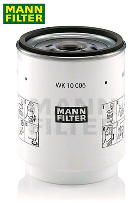 FUEL WATER SEPARATOR VOLVO WK10006Z 21017305, 7420998346, 7421380472, 20879806, 21380475, BF1386-0