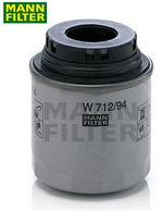 W71294 MANN OIL FILTER AUDI A3 VOLKSWAGEN GOLF