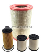 HOLDEN COLORADO 2.5L 2.8L CRD TURBO DIESEL AIR OIL FUEL FILTER KIT
