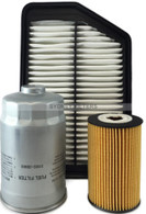 KIT134 HYUNDAI i40 1.7L CRDi AIR OIL FUEL FILTER KIT