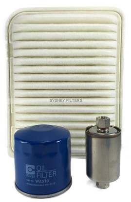 FORD FALCON TERRITORY AIR OIL FUEL FILTER KIT