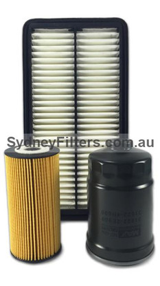 KIA CARNIVAL 2.2L TURBO DIESEL AIR OIL FUEL FILTER KIT SYDNEY FILTERS