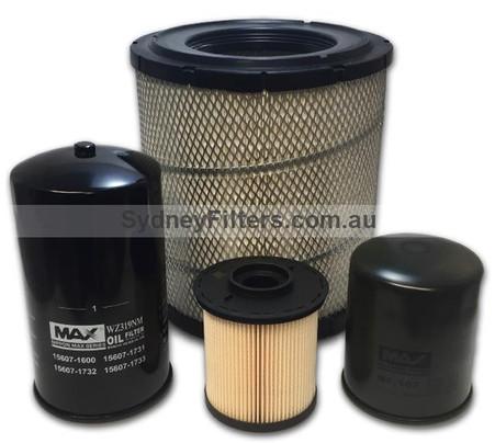 HINO DUTRO filter XZU404, XZ414, XZU424, XZU434 SO5CTB (KIT164)