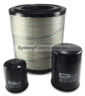 HINO DUTRO FILTER KIT to suit XZU410, XZU420, XZU430 J05C (1999->2003) (KIT167)