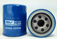 OIL FILTER HYUNDAI/KIA WCO57NM (Interchangeable with Z630, MO628, 26300-42040) NIPPON MAX