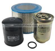 TOYOTA HILUX SURF AIR OIL FUEL FILTER KIT SYDNEY KIT171