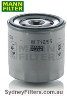 W712/95 OIL FILTER VOLKSWAGEN GOLF