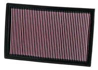 K&N AIR FILTER 33-2384 (WA5190, interchangeable with A1712, C36188)