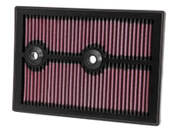 K&N AIR FILTER 33-3004 Volkswagen Golf, Caddy, Polo & Skoda/Audi (WA5338, interchangeable with A1841, C27009)