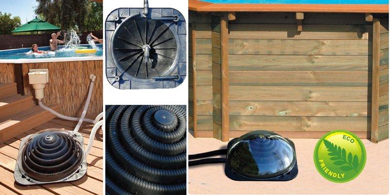 Eco Swimming Pool Solar Heating Pods Uk