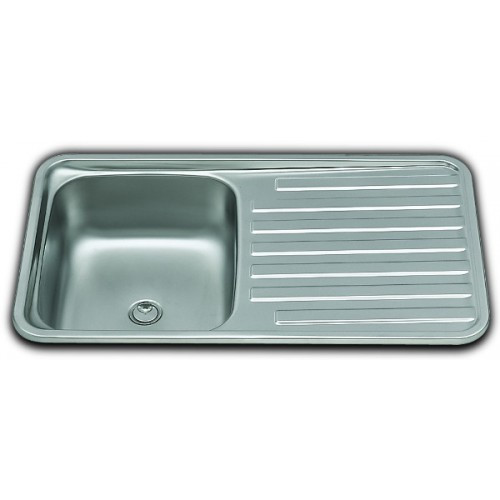caravan kitchen sink smev va934 sink and drainer for campervan and motorhome 1991