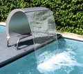 Ornamental Swan Curtain 1000 Swimming Pool Water Fountain (34390)