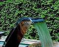Deluxe Curtain Swimming Pool Water Feature Fountain