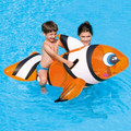 Children's Clown Fish Swimming Pool Ride On Toy (41088B)