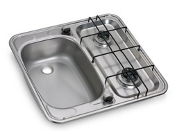 Dometic HS2460L hob and sink caravan and motorhome combination left hand