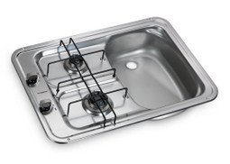 Dometic HS2420R campervan and boat sink and hob combination image shows right hand